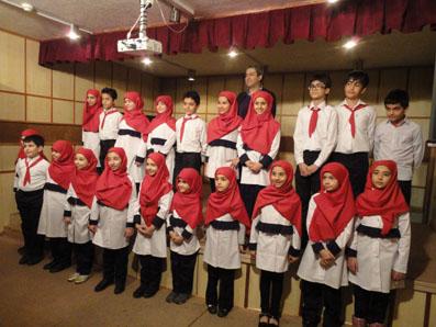 عکسی از کنسرت گروه کر کودک مرکز موسیقی و سرود صداوسیما/ 931116 ـ عکس اختصاصی