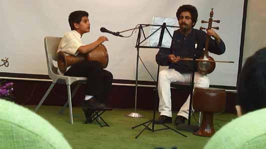 سروش طلیعی و علی طلیعی در کنسرت کاخ ـ موزه ی نیاوران/ 931202ـ عکس اختصاصی