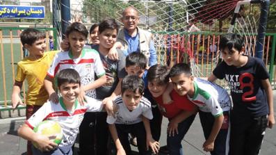 سروش طلیعی و دوستانش در اردوی من و بابام/ 940219 ـ عکس اختصاصی