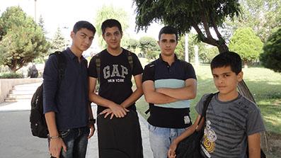سروش طلیعی در گروه موسیقی فرهنگ پارس/ 930522ـ عکس اختصاصی