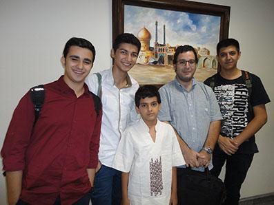 سروش طلیعی در گروه موسیقی فرهنگ پارس/ 930617ـ عکس اختصاصی